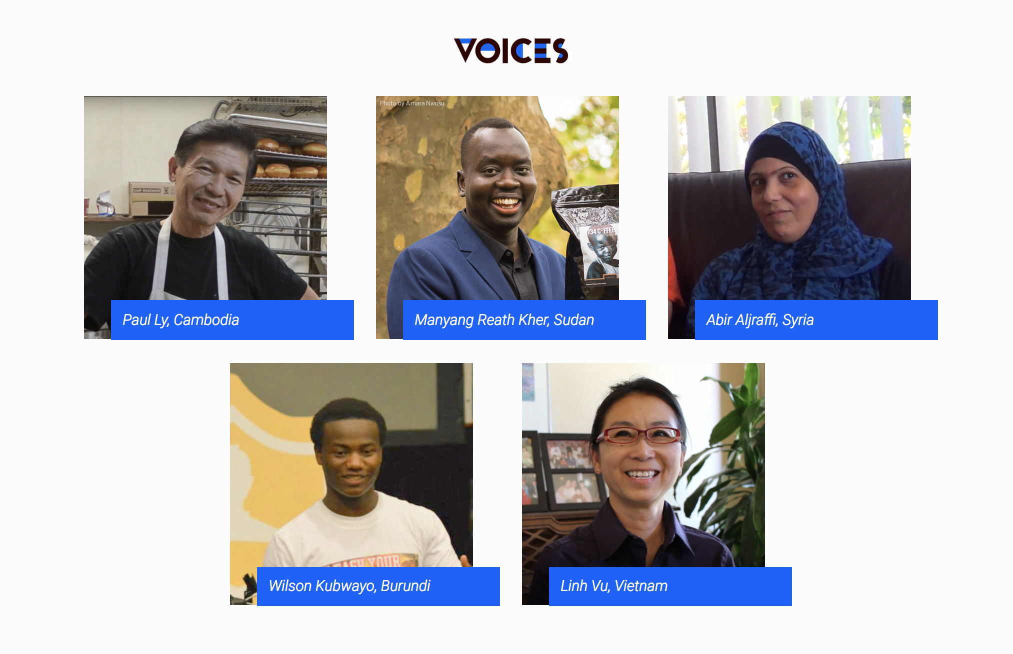 VOICES Homepage